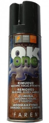 OK ONE - Sciogli silicone e colla spray - 200ml