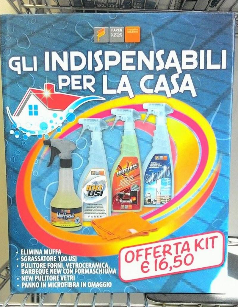 Kit detergenti casa elimina muffa sgrassatore pulitore - Muffa in casa nuova ...