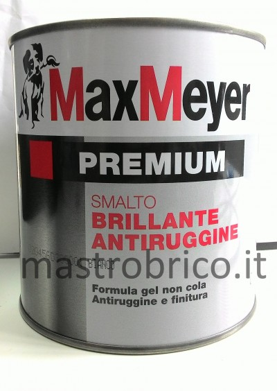 SMALTO ANTIRUGGINE brillante - formula gel - non cola