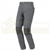 PANTALONE STRETCH ONE COLOR GRIGIO tg. S M L XL - INDUSTRIAL STARTER - Industrial STARTER