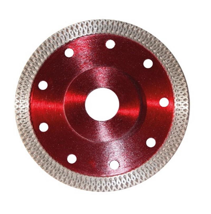 Disco diamantato speciale turbo per gres porcellanato - Disco taglio piastrelle ...